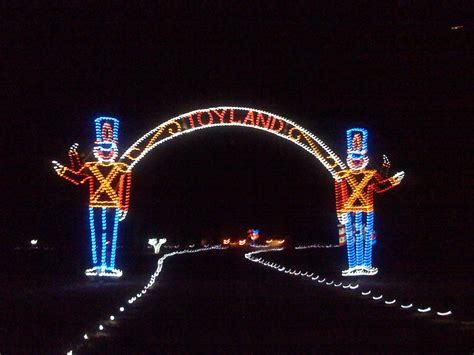 christmas lights at bull run open loudoun county area