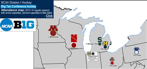big ten map billsportsmaps