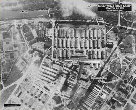 nova online | holocaust on trial | auschwitz aerial view