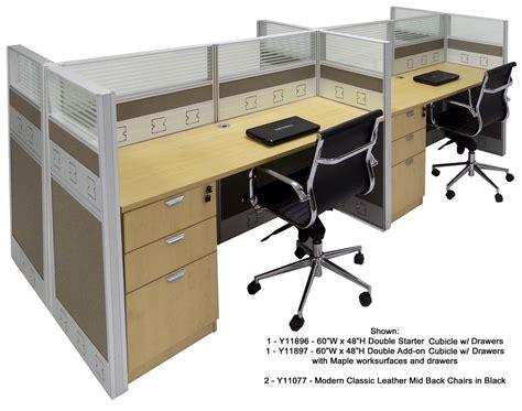 60 watt desk l 60 quot w premium office cubicle series 60 quot w x 24 quot d x 48 quot h