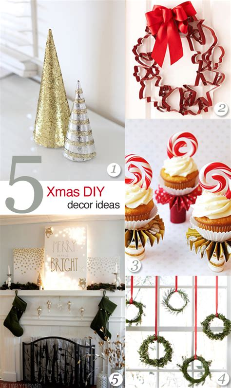 diy christmas home decorations crashingred 5 diy christmas decor ideas crashingred