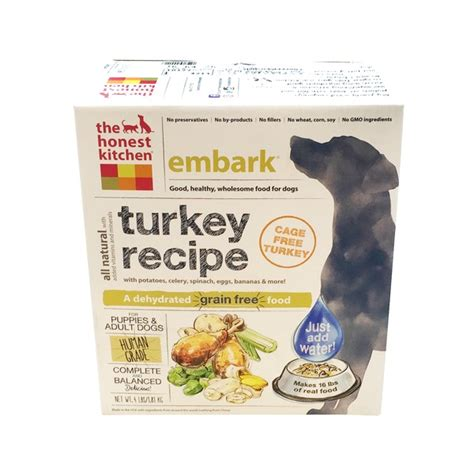 the honest kitchen embark turkey recipe food from