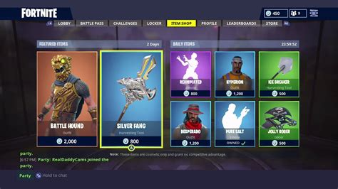 fortnite item shop today new item shop items in fortnite battle royale fortnite
