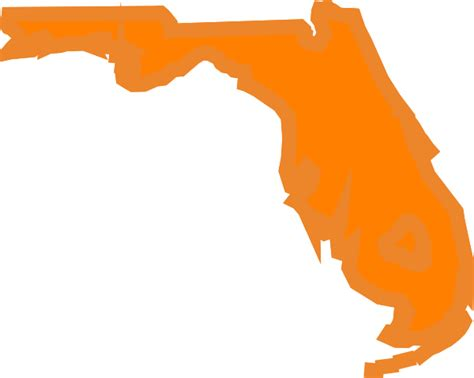 Florida State Outline Png by Florida State Outline Clip At Clker Vector Clip Royalty Free Domain