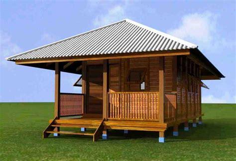 desain rumah kayu sederhana gambar desain rumah