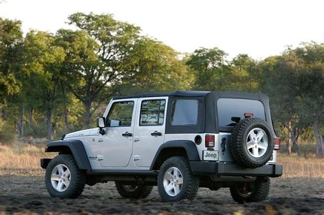 Jeep Wrangler Unlimited Top Speed 2007 Jeep Wrangler Unlimited Review Top Speed