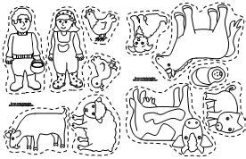 printable animal stick puppets making learning fun free early learning printables