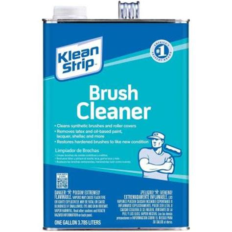 home depot paint brush cleaner klean 1 gal brush cleaner gbc12 the home depot