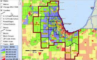 Chicago County Map by Chicago Msa Metropolitan Area Demographic Trends