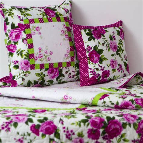 Pink Patchwork Quilt - cerise pink patchwork quilt nursery set runny babbits