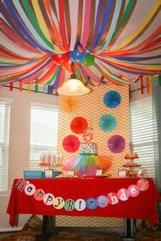 sweetlooking at home kids party ideas birthday cool decorations 1000 images about crayons classroom theme on pinterest