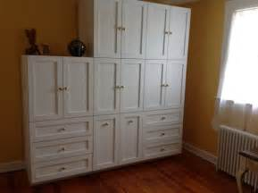 Custom Armoire Cabinet Bedroom Wall Cabinets Storage Custom Units Brilliant For