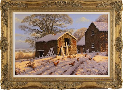 A Frame For Sale edward hersey original oil painting on canvas cotswolds