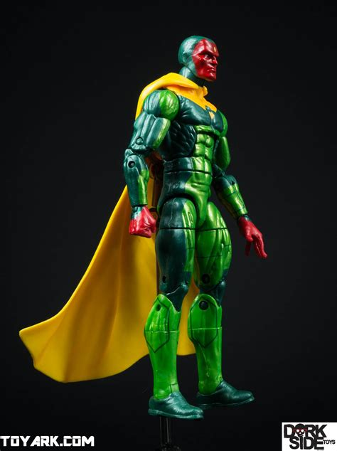 Marvel Legend Vision marvel legends vision hulkbuster baf wave photo shoot the toyark news