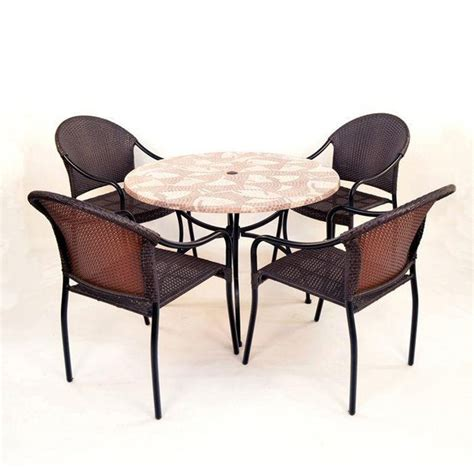Buy Patio Furniture Sets Buy Europa Leisure Romano Patio Set With 4 San Tropez Chairs At Argos Co Uk Your Shop