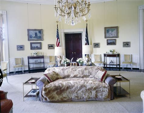 and malia rooms in the white house kn c21443 yellow oval room white house f kennedy presidential library museum
