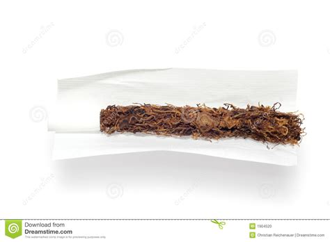 How To Make A Paper Cigarette That You Can Smoke - a cigarette stock photo image 1904520