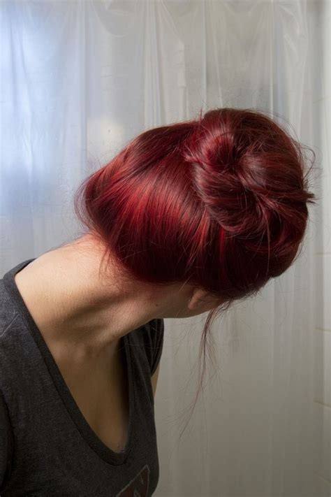 hairstyles without dying roots how to dye your brown hair red without bleach if you re in