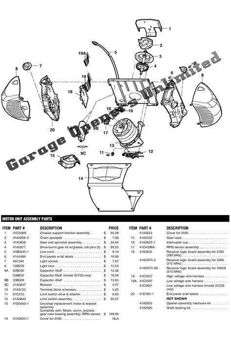 master garage door opener wiring diagram furthermore genie