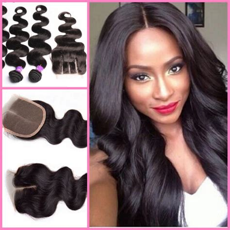 closure weave styles full weave on pinterest closure weave brazilian weave