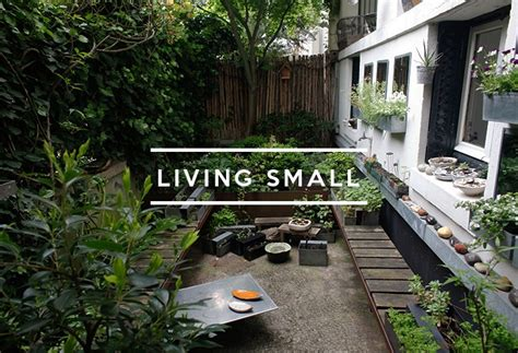 table  contents living small gardenista