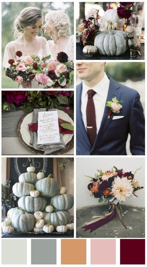 Fall wedding design board   Fall Wedding color scheme