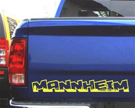 Sticker Drucken Mannheim by Aufkleber Mannheim Schriftzug Skyline 25 Farben 8 Gr 246 223 En