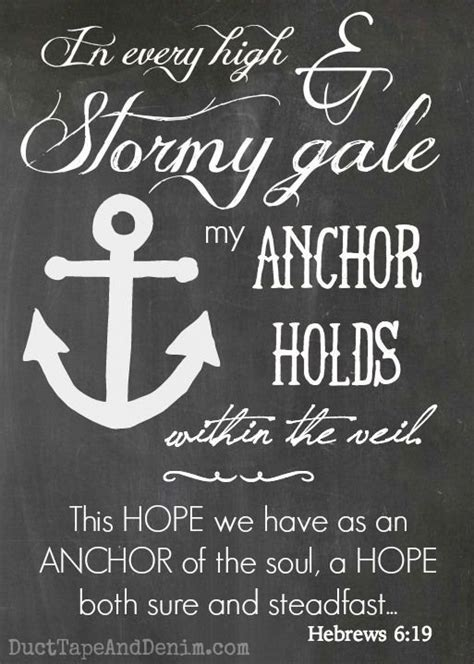 printable hope quotes this hope we have as an anchor of the soul free 5 quot x7