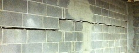 bowed basement wall repair cost the cost of repairing bowed basement walls all