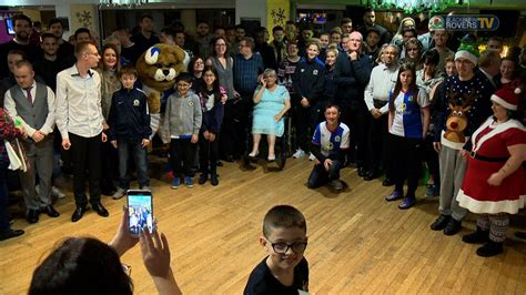 blackburn rovers disabled supporters christmas party youtube