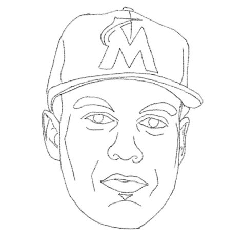 mlb coloring pages mike trout mlb coloring pages sketch coloring page