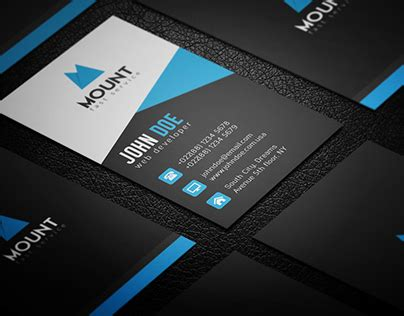 https www behance net gallery 23501915 creative business card template freebie creative business card on behance