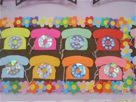 telephone pattern kindergarten telephone craft idea for kids crafts and worksheets for