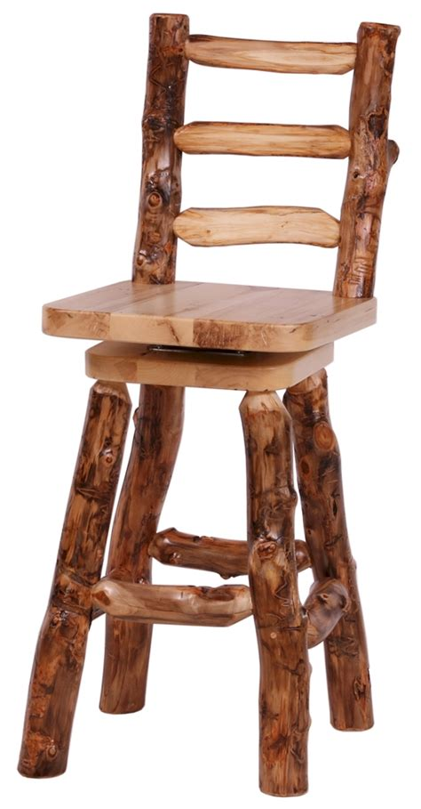Passing Stools by Aspen Log Bar Stool Counter Stools Aspen Log Furniture