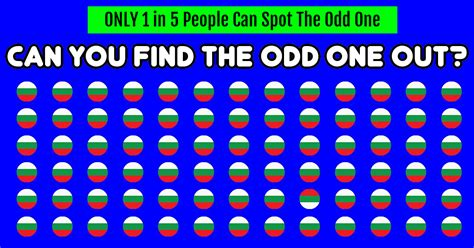 the odd one out nobody can solve this can you spot the odd one out immediately playbrain