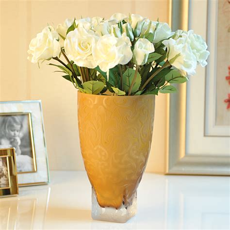 flower home decor top hot vase home decorations large vase flower glass vase
