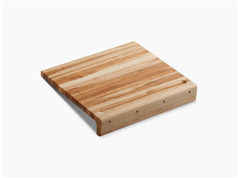 countertop cutting board countertop hardwood cutting board k 5917 kohler