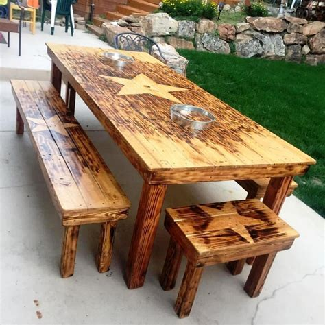 Dining Table Made From Pallets Useful And Easy Diy Ideas To Repurpose Pallets Wood Recycled Things