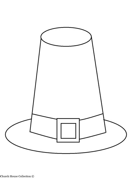 pilgrim house coloring page thanksgiving pilgrim hat coloring page