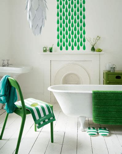 Green And White Bathroom Ideas by Modern Colorful Home Furnishings Colorful Home Decor
