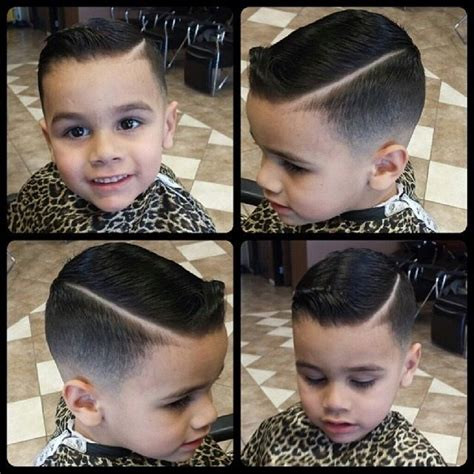 boys pompadour boy hairstyle children s hair david scott salon