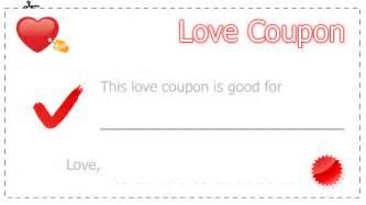 Coupon templates printable blank coupon template 7 love coupons