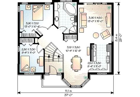 house 3171 blueprint details floor plans