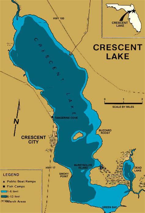 crescent florida map crescent lake florida
