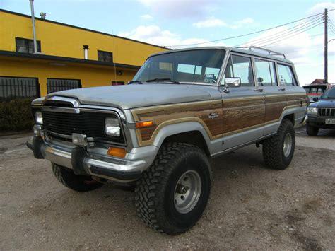 classic jeep wagoneer 1984 jeep grand wagoneer limited sport utility 4 door 5 9l