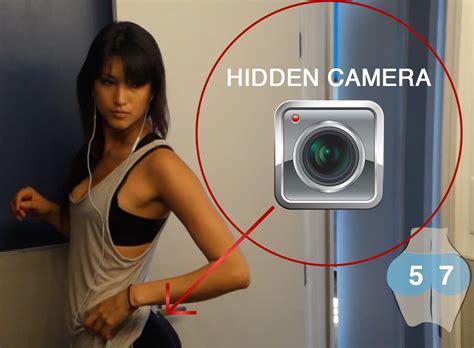hidden camera college bathroom video watch what happens when a girl in yoga pants wears