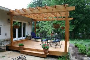 Diy Pergola On Existing Deck by Building A Pergola Help Me Plan It Landscaping Amp Lawn