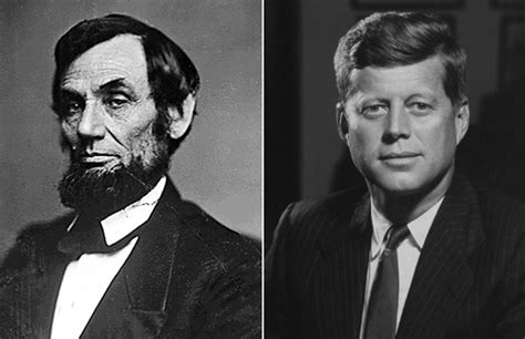 abe lincoln and jfk lincoln jfk leaders now loved for the same reasons they