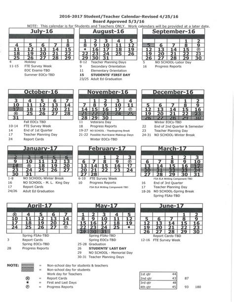 Dothan City Schools Calendar Middle School Calendar 2017 Calendar 2017