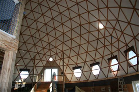 geodesic dome home interior house design ideas